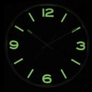 Horloge murale phosphorescente