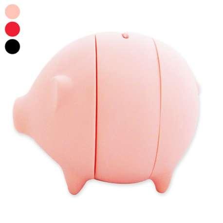 Tirelire cochon à ouverture facile cochon à trancher
