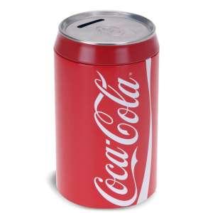 Tirelire en forme de canette coca-cola