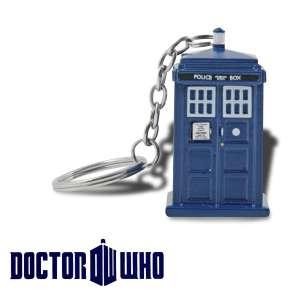 Porte-clés lumineux LED Tardis Docteur Who