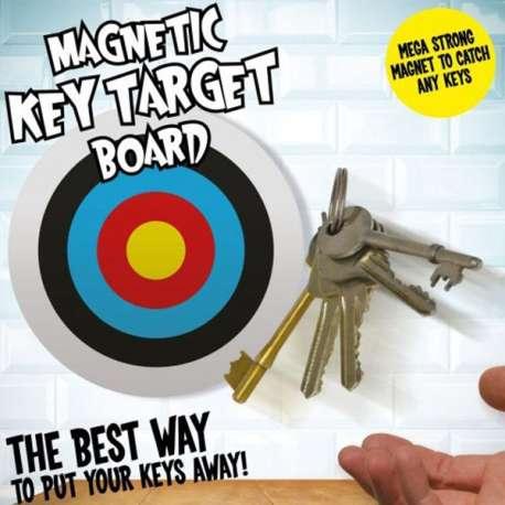 Accroche-clés magnétique cible de fléchette