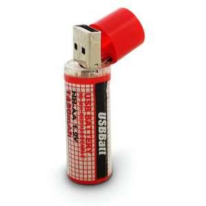 Pile AA économique, rechargeable par voie d'USB