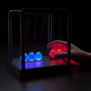 Pendule lumineux de Newton LED 3 modes