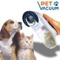 Masseur et aspirateur pour poils d'animaux