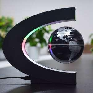 Globe terrestre LED levitation magique lumineux flottant magnétique
