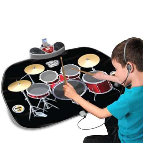 Tapis musical batterie et haut-parleur