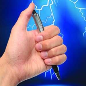 Stylo farceur, à décharge électrique électrochoc