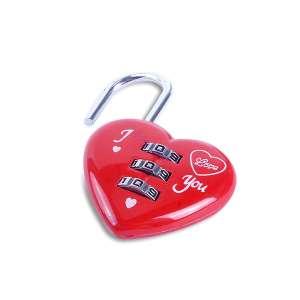 Cadenas cœur rouge