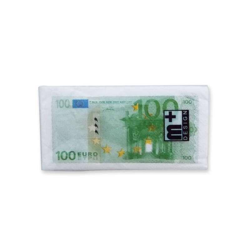 gamme complète d'articles vente de sortie prix plancher Mouchoirs en papiers impression billets 100 euros - Totalcadeau