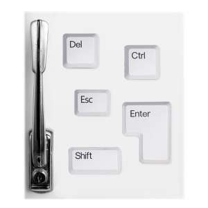 Lot de 5 aimants touches de clavier magnet