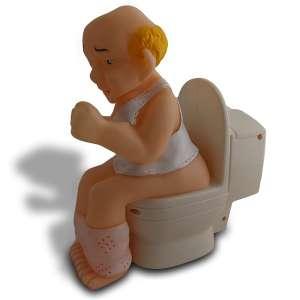 Homme aux toilettes : Détection de bruit gémissement, mouvement