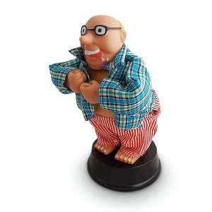 Finger Willy figurine montre ses fesses sexy gémissement, mouvement