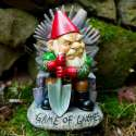 Gnome nain de jardin sous le thème Game of Thrones