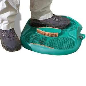 Tapis d'entrée anti boue, paillasson brosse chaussure