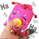 Porte-clés sac émetteur de rires