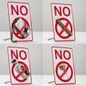 Panneau interdiction à tout ce que vous voulez