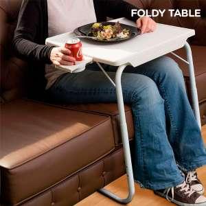 Table pliante ajustable - niveaux en hauteur et inclinable
