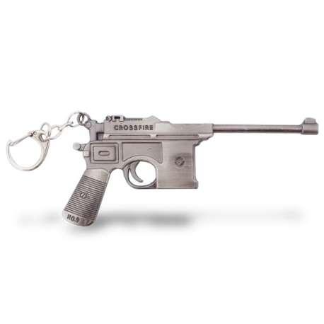 Porte-clés pistolet