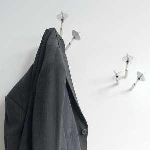 Porte-manteau 3 fléchettes acier chromé patere fleche