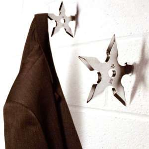 Porte-manteau Shiruken étoile Ninja