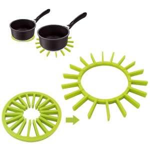 Dessous de plat 2 en 1 en silicone