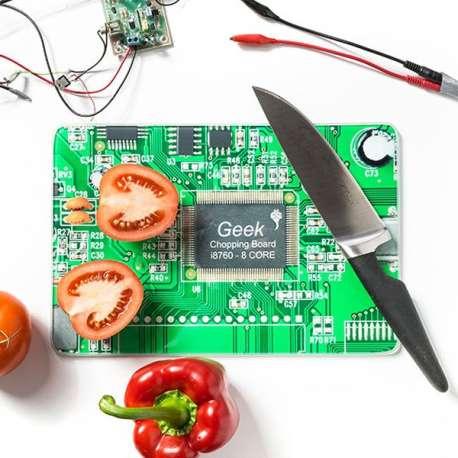 Planche à découper Carte mère imitation circuit imprimé
