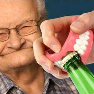 Ouvre-bouteille dentier décapsuleur