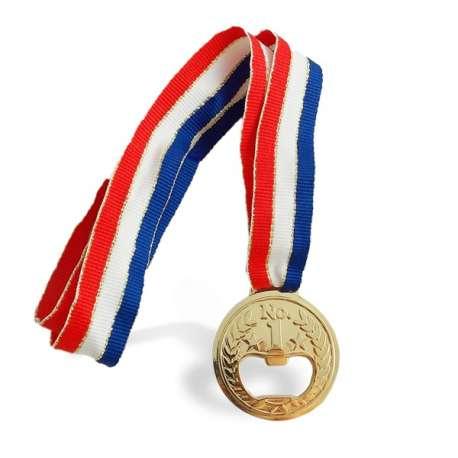 Médaille décapsuleur ouvre-bouteilles