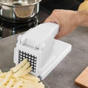 Appareil coupe frites facile lames en acier inoxydable patate