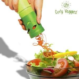 Eplucheur de légumes à vague curly veggies