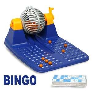 Jeu Bingo avec roulette et billes