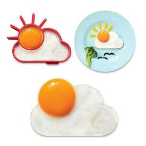 Moule soleil pour œuf sur plat en silicone