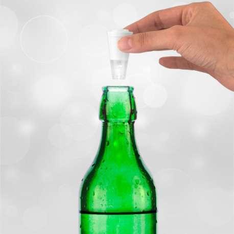 Bouchon LED pour bouteille lumineux
