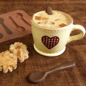 Moule en silicone chocolat petites cuillères