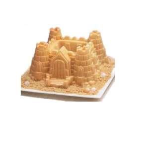Moule à gâteau en silicone château fort