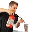 Extincteur distributeur de boisson