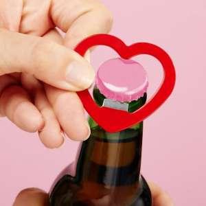 Porte-clés cœur décapsuleur ouvre bouteille