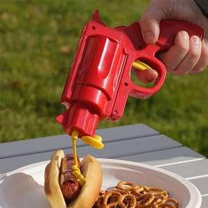 Pistolet distributeur de sauce ketchup, mayonnaise, moutarde