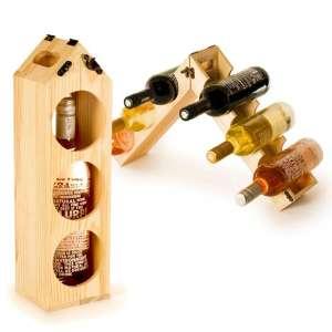 Porte-bouteille et range-bouteilles multiformes