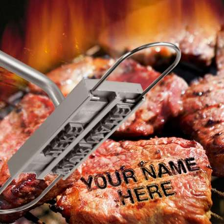 Fer pour marquer vos grillades au barbecue