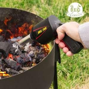 Pistolet ventilateur pour barbecue allume facile bbq