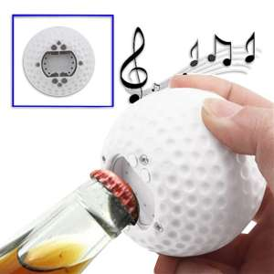 Ouvre-bouteille balle de golf décapsuleur sonore