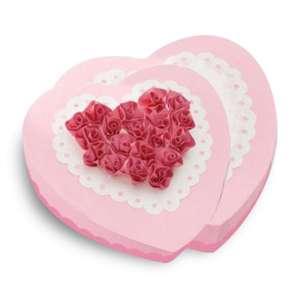 Moule à gâteau en silicone duo de coeur