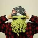 Masque cagoule pieuvre à tentacules pour déguisement