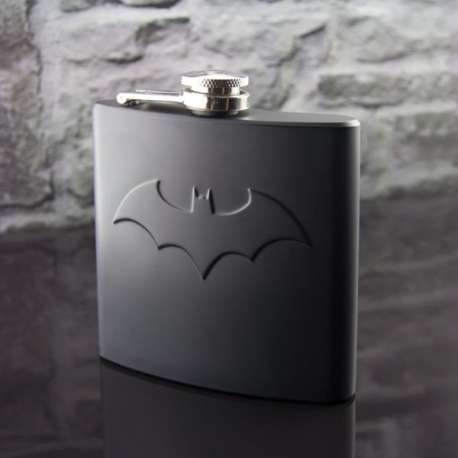 Flasque avec logo de Batman