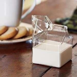 """Pot à lait """"Brique de lait"""" pichet carafe"""