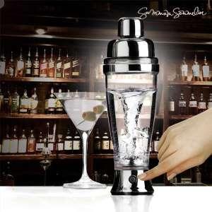 Shaker électrique deluxe pour barman