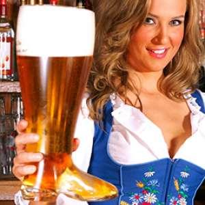 Chope en verre bière botte XXL 800 mL
