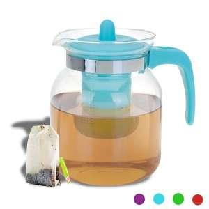 Théière avec filtre pour thé à infuser