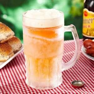 Chope de bière réfrigérante à double parois